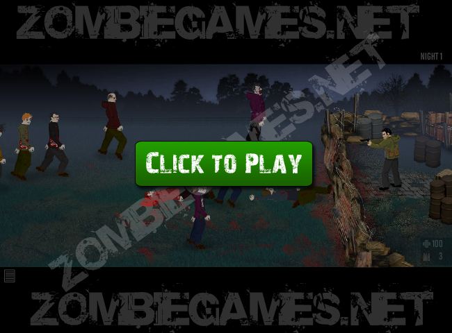 zombie defense flash game